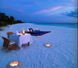 Amanpulo Private Beach Dining