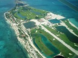 Caye Chapel from above