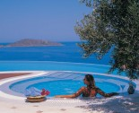 Elounda Spa Villa Spa Pool