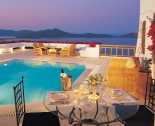 Elounda Villa by night