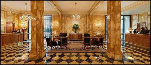 Foyer De Hotel : Hotel de crillon