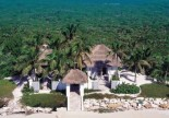 Musha Cay Villa on beach