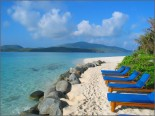 Necker Island - Beach And Loungers