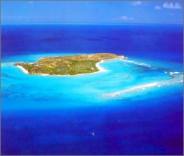 Necker Island - From The Air