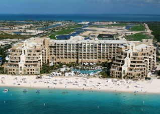 Ritz Carlton Grand Cayman - Aerial Shot