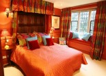 St Catherines Court Red Bedroom