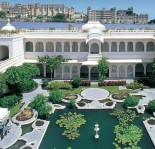 Taj Lake Palace - Beautiful Gardens