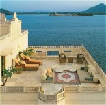 Taj Lake Palace - Terrace
