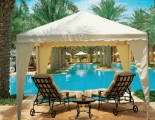 The Royal Mirage - Seating by the Pool