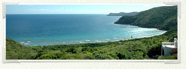 View over North Bay Guana Island