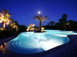 Villa Katarina Swimming Pool At night