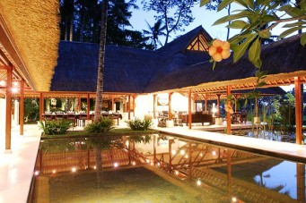 Villa Pantulan In the Evening